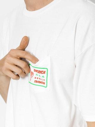 T-shirt Emerica Sriracha Pocket (white)
