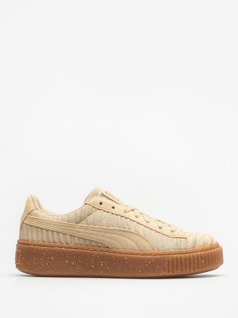 Buty Puma Basket Platform Ow Wn S Wmn (safari/safari/whisper white)