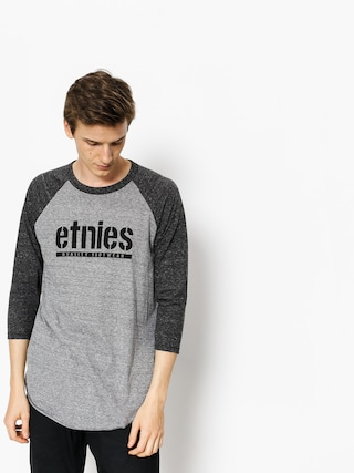 Koszulka Etnies Triblend Raglan (grey/light grey)