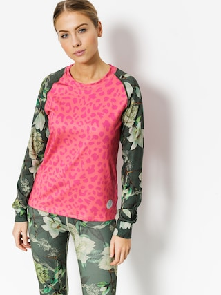 Longsleeve Femi Stories Bonn Fit Wmn (neon leo)