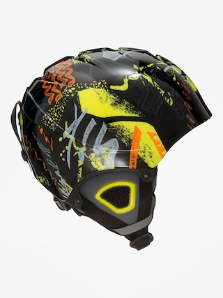 Kask Quiksilver The Game B (black thunderbolt kids)