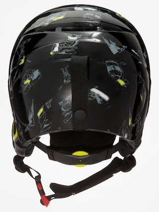 Kask Quiksilver The Game B (black dark doggy snow)