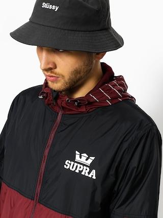 Kurtka Supra Dash Track (burgundy/black)