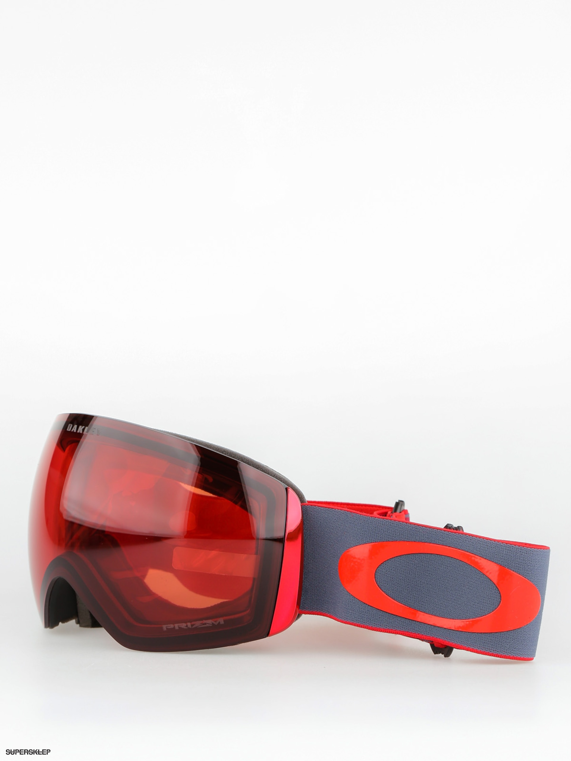 Gogle Oakley Flight Deck (wet dry red iron/prizm snow rose)