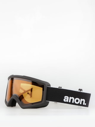 Gogle Anon Helix 2.0 Non Mir (black/amber)