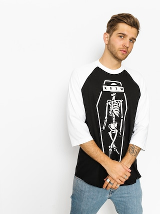 Koszulka Kr3w Skeleton Kr3W (black/white)