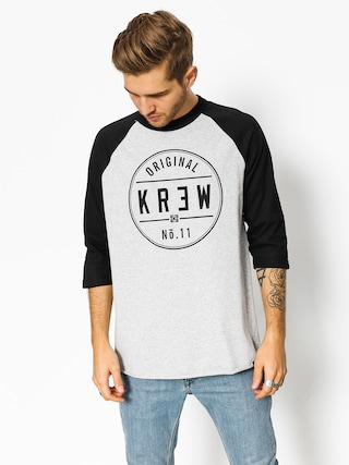 Koszulka Kr3w Classic Seal (grey heather/navy)