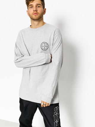 Longsleeve Supra Cross Seal (grey heather)