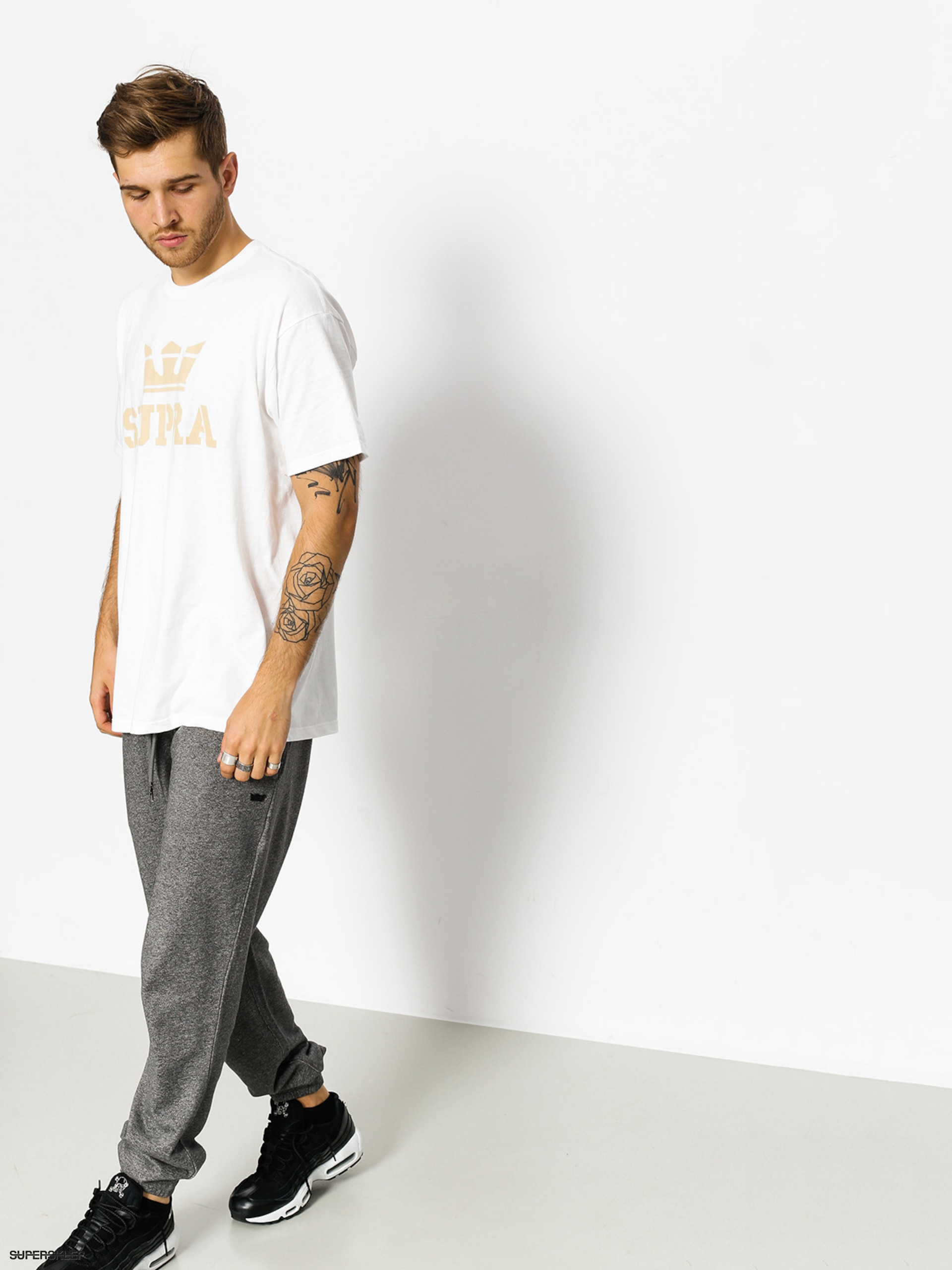 T-shirt Supra Above (white/beige)
