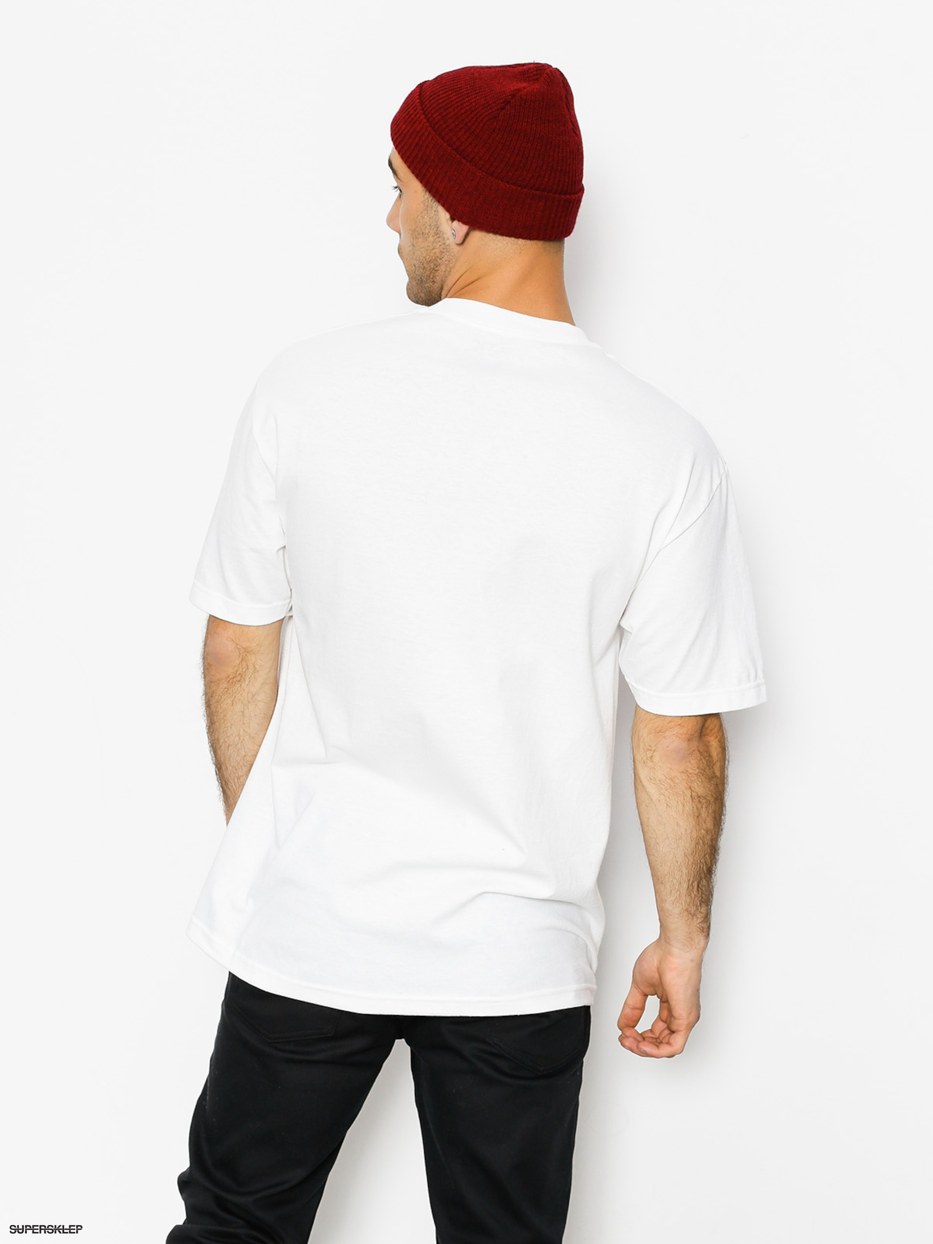 T-shirt DGK F With (white)