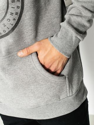 Bluza z kapturem Supra Cross Seal HD (grey heather)