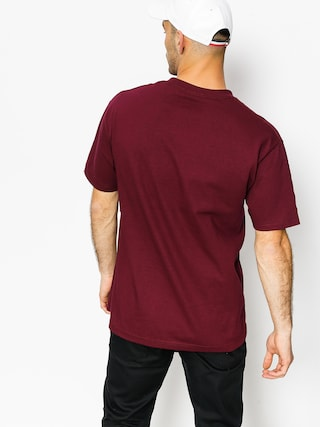 T-shirt DGK Fast Life (burgundy)