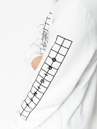 Bluza Kr3w Lock Grid (white/black)