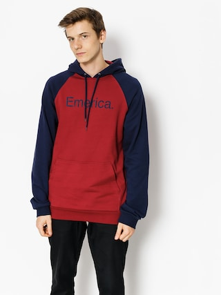 Bluza z kapturem Emerica Purity HD (oxblood)