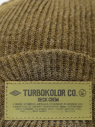 Czapka zimowa Turbokolor Fisherman (khaki)