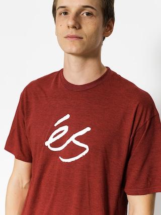 T-shirt Es Mid Script Tech (red)