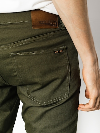 Spodnie Volcom Vorta 5 Pocket Slub (mil)