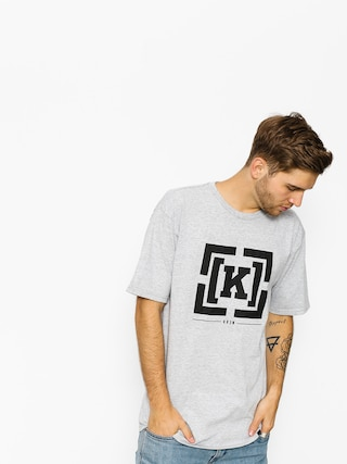T-shirt Kr3w Bracket (grey heather)