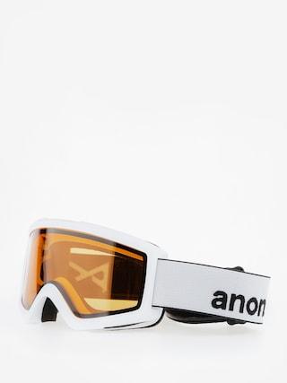 Gogle Anon Helix 2.0 Non Mir (white/amber)