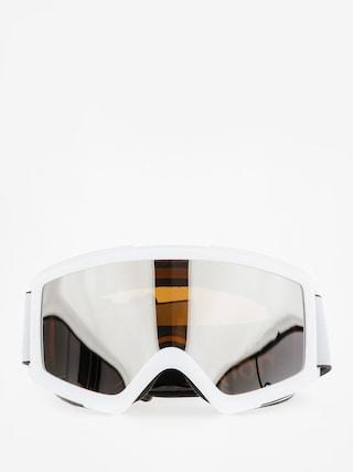 Gogle Anon Helix 2.0 W/Spare (white/silver amber)