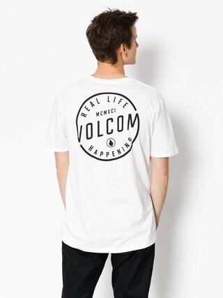 T-shirt Volcom On Lock Bsc (wht)
