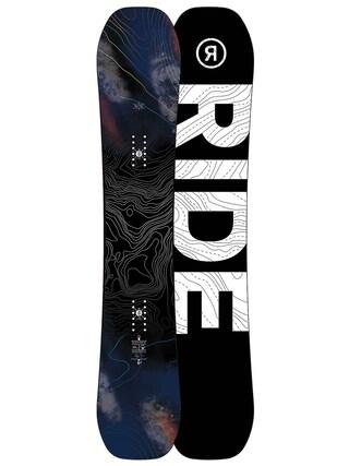 Deska snowboardowa Ride Berzerker (black/white)