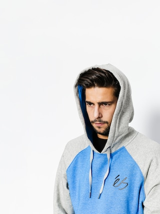 Bluza z kapturem Es Script HD (blue/heather)