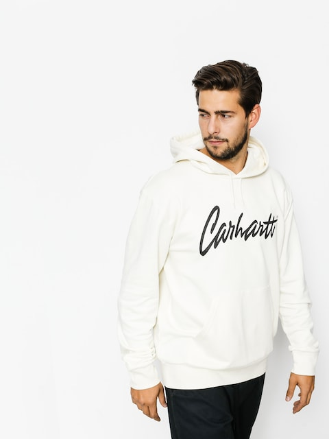 Bluza z kapturem Carhartt Stray Sweat HD (wax/black)