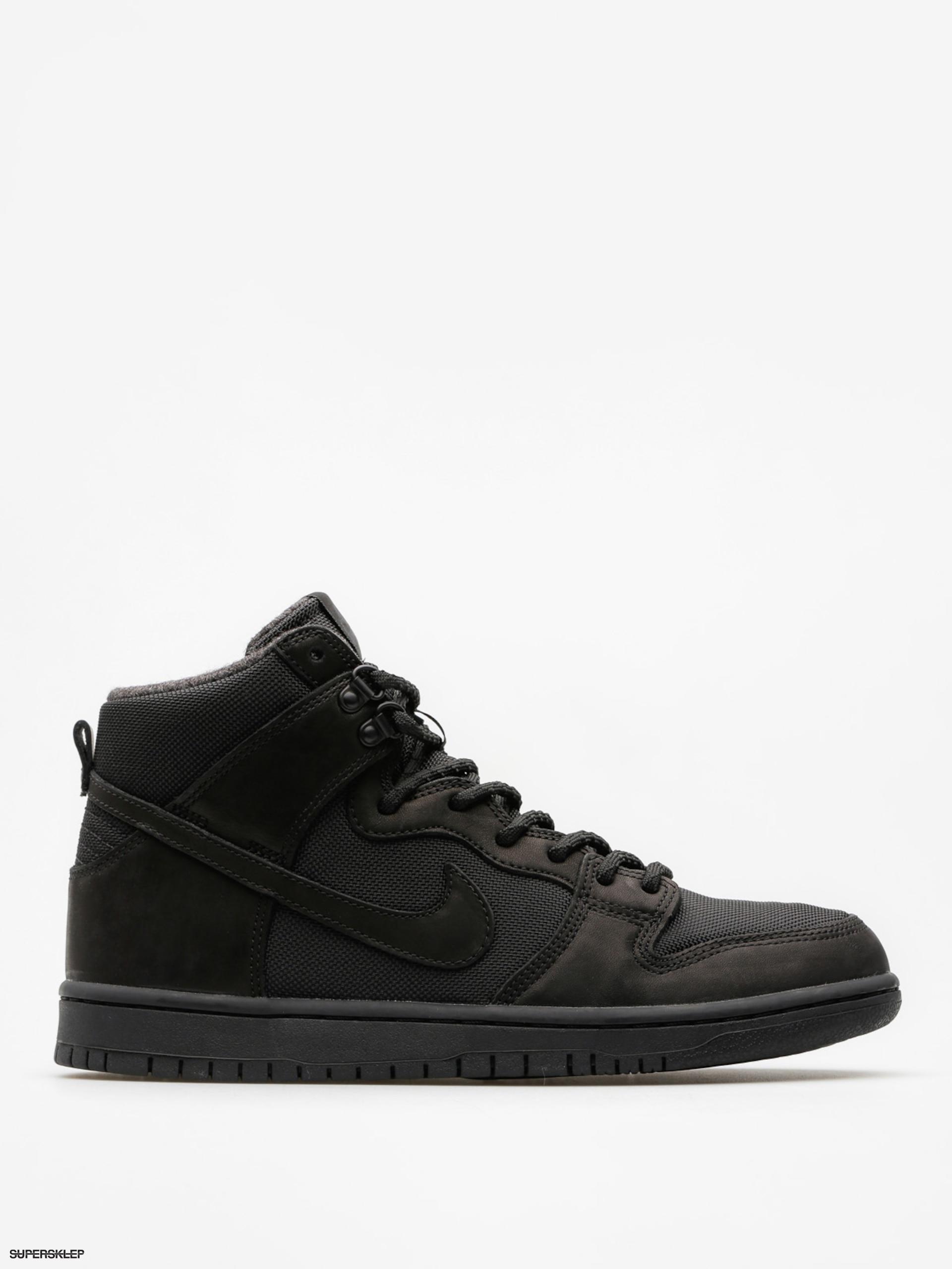 best service 9dda4 c5e5e Buty Nike SB Dunk Hi Pro Bota (black/black anthracite)