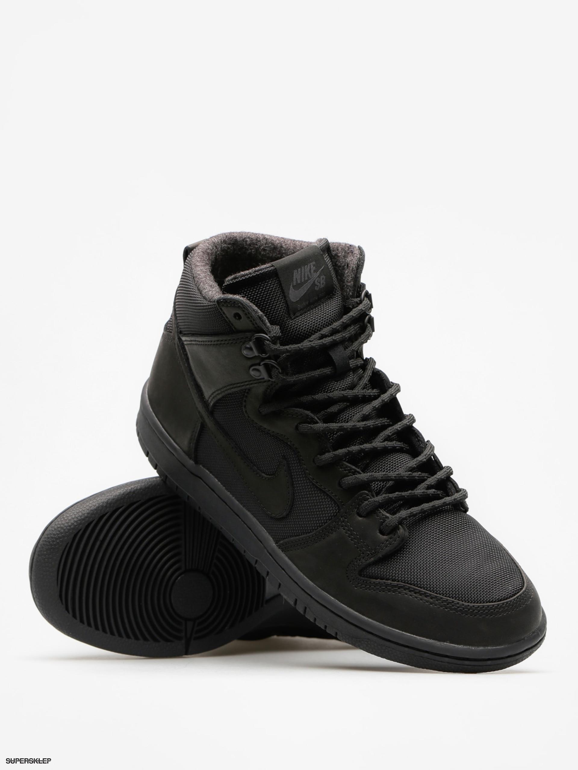 Sklep: nike sb nike sb buty dunk mid black black