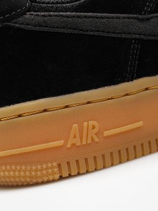 Buty Nike Air Force 1 07 Se Wmn (black/black gum med brown ivory)