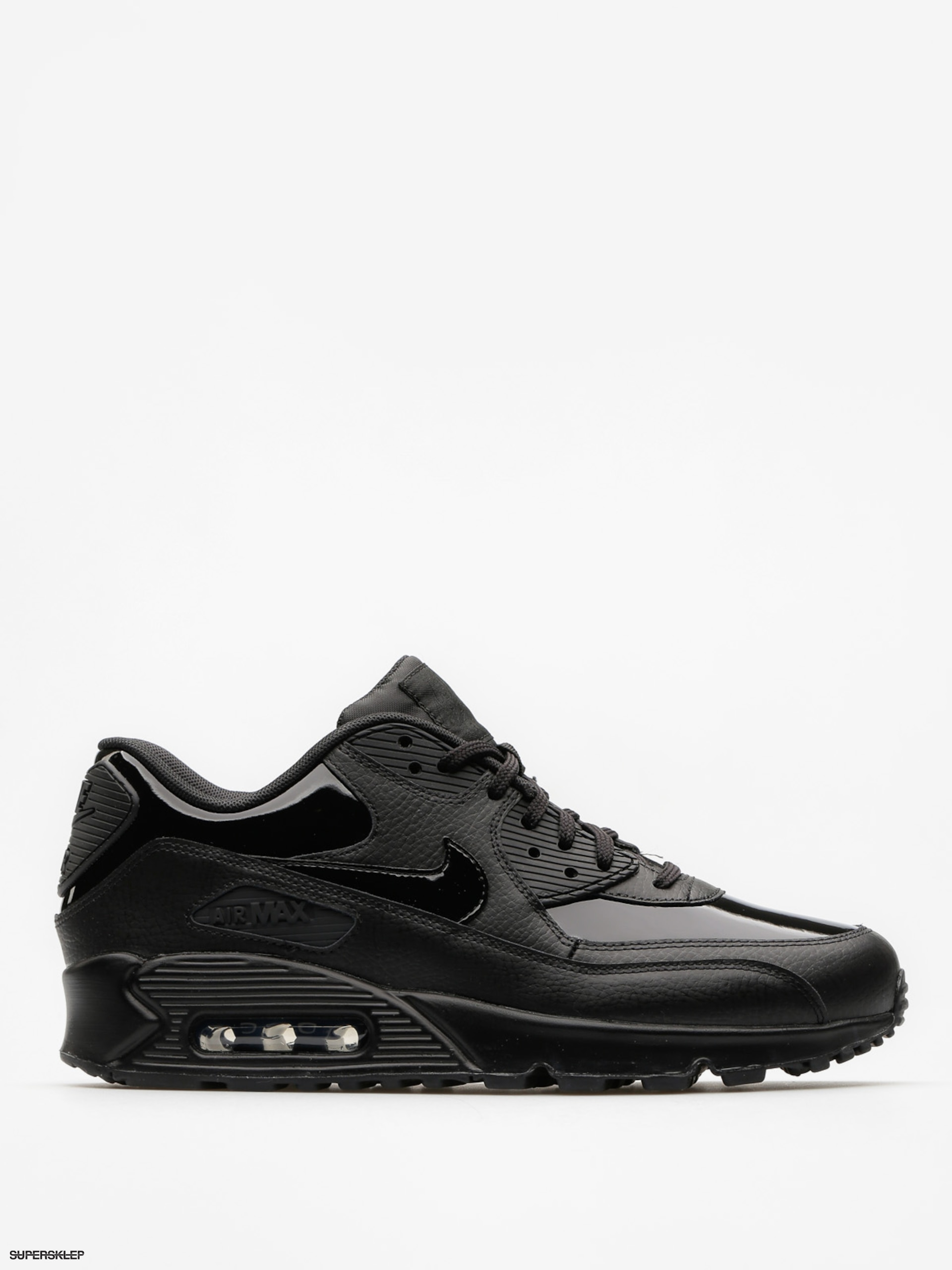 Buty Nike Air Max 90 Leather Wmn (black/black black)