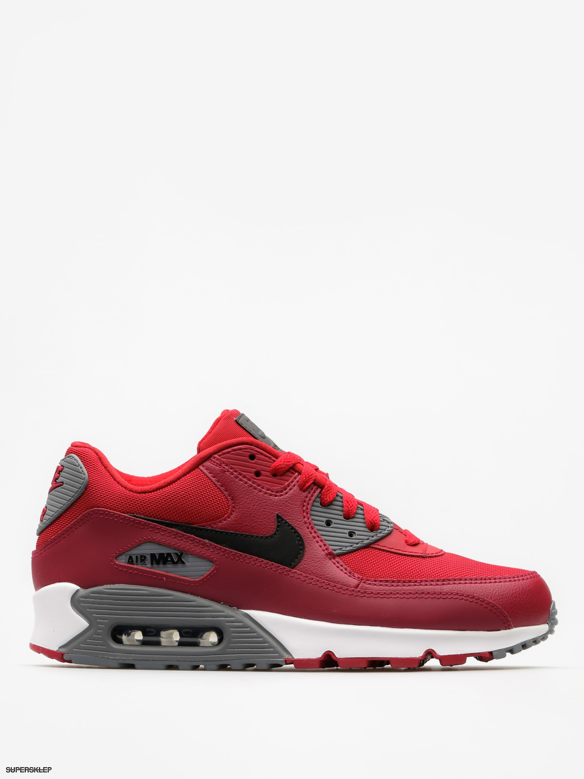 Buty Nike Air Max 90 (Essential gym red/black noble red cool grey)