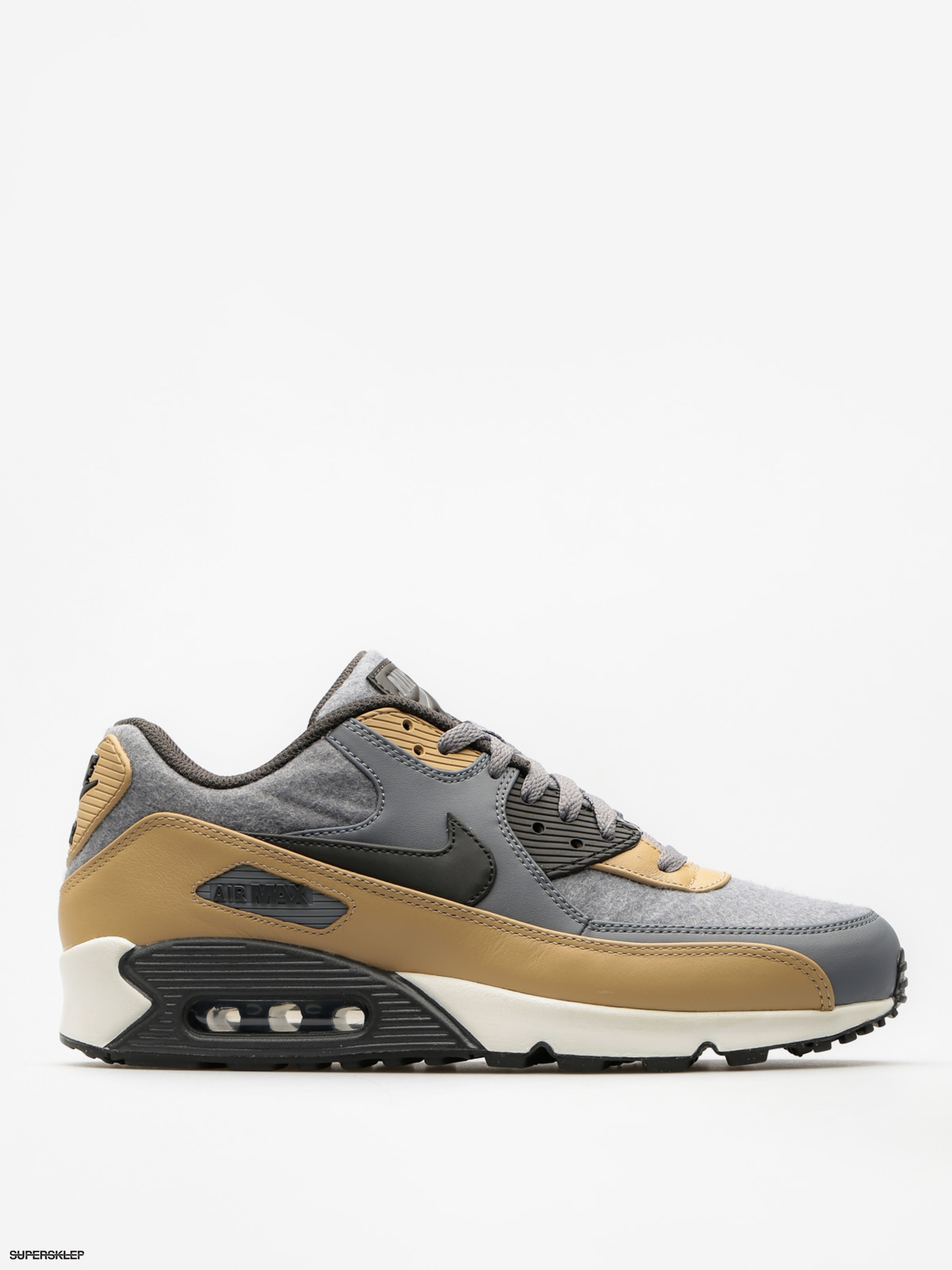 Buty Nike Air Max 90 (Premium cool grey/deep pewter mushroom wolf grey)