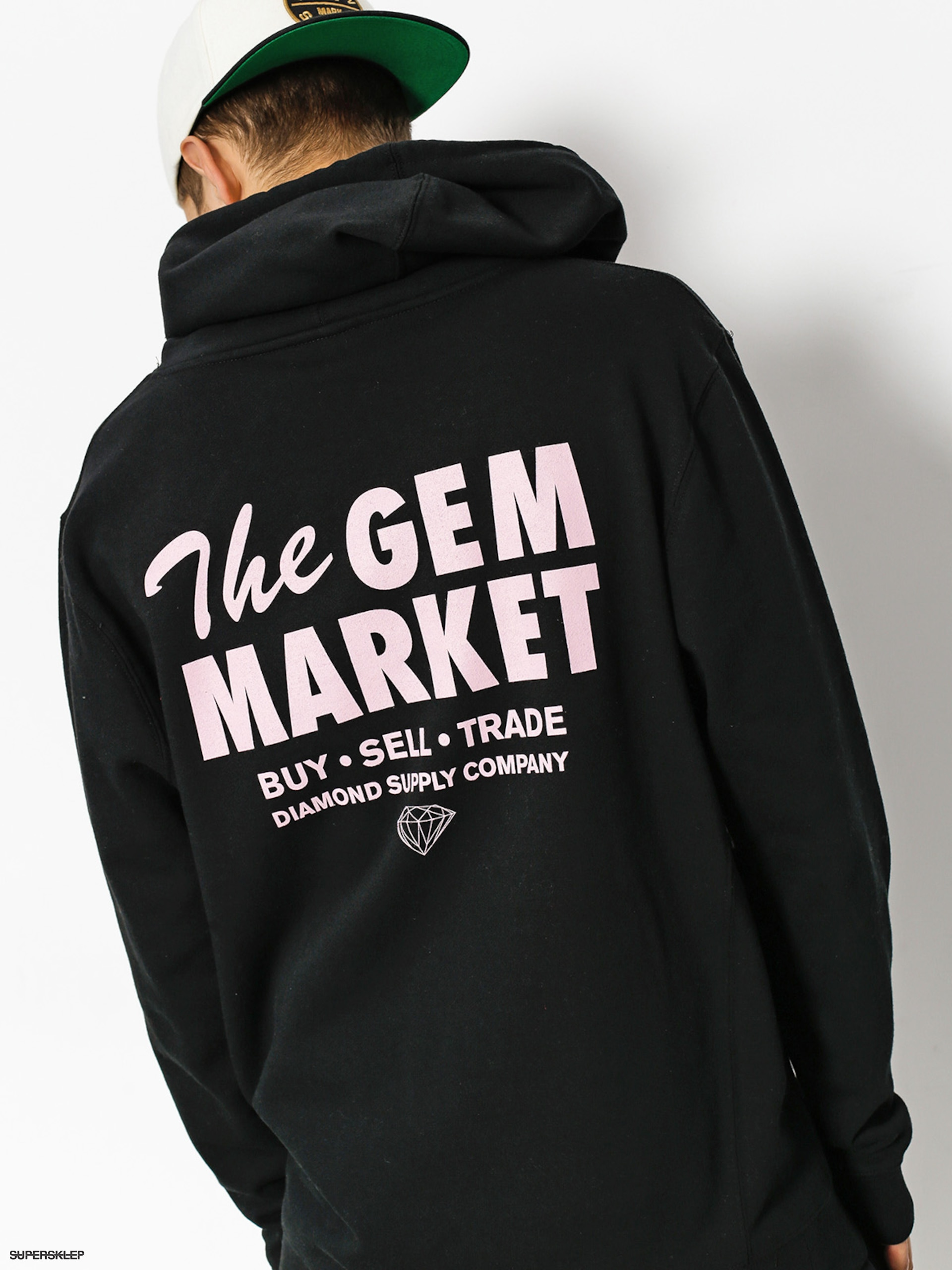 Bluza z kapturem Diamond Supply Co. Gem Market HD