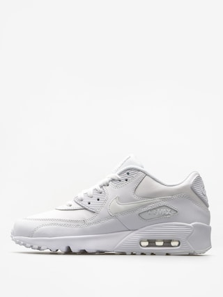 Buty Nike Air Max 90 Leather Gs (white/white)