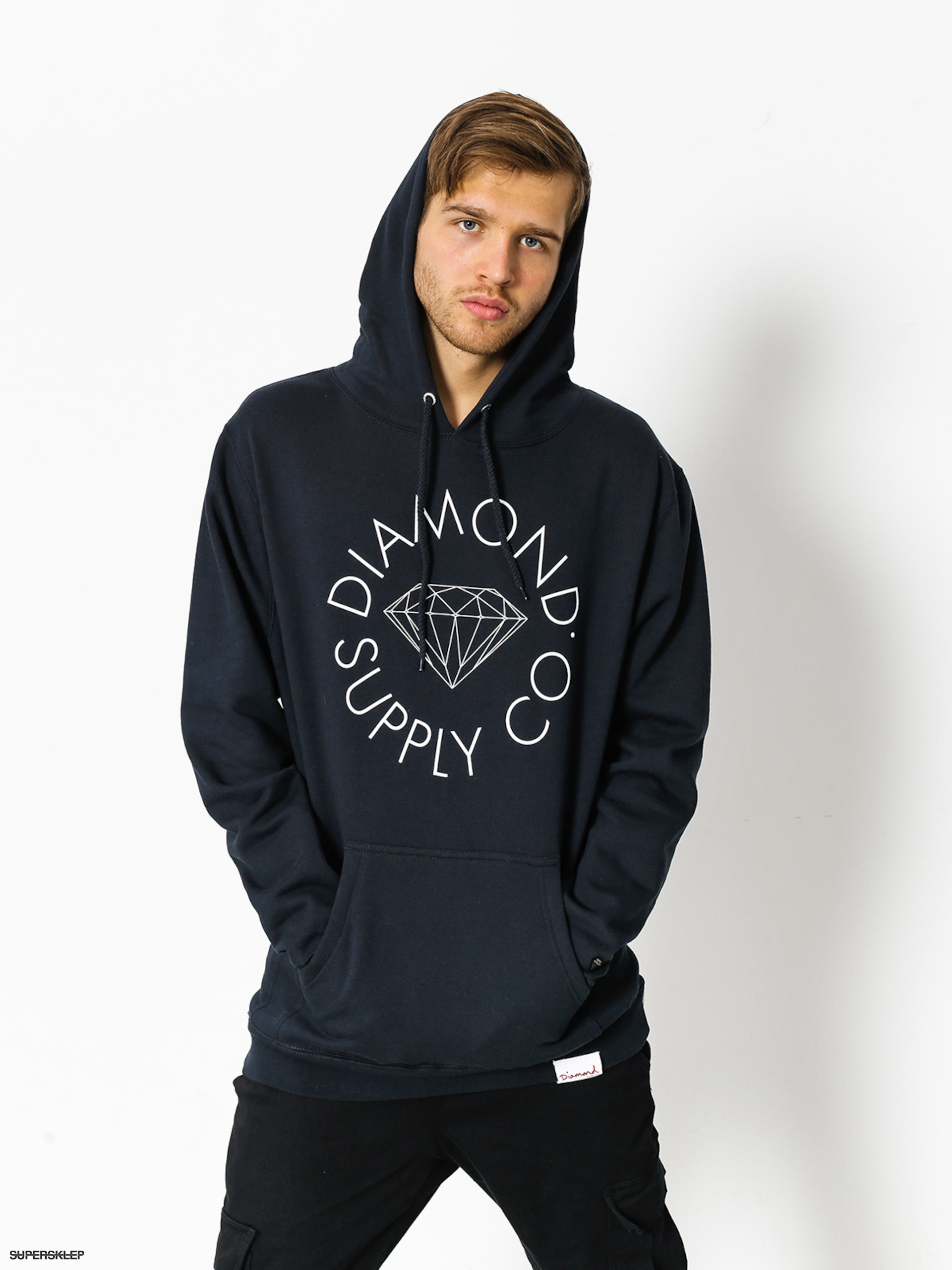 Bluza z kapturem Diamond Supply Co. Circle Logo HD