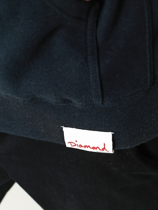 Bluza z kapturem Diamond Supply Co. Circle Logo HD (navy)