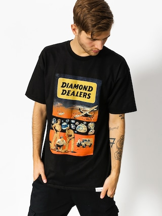 T-shirt Diamond Supply Co. Dealers (black)