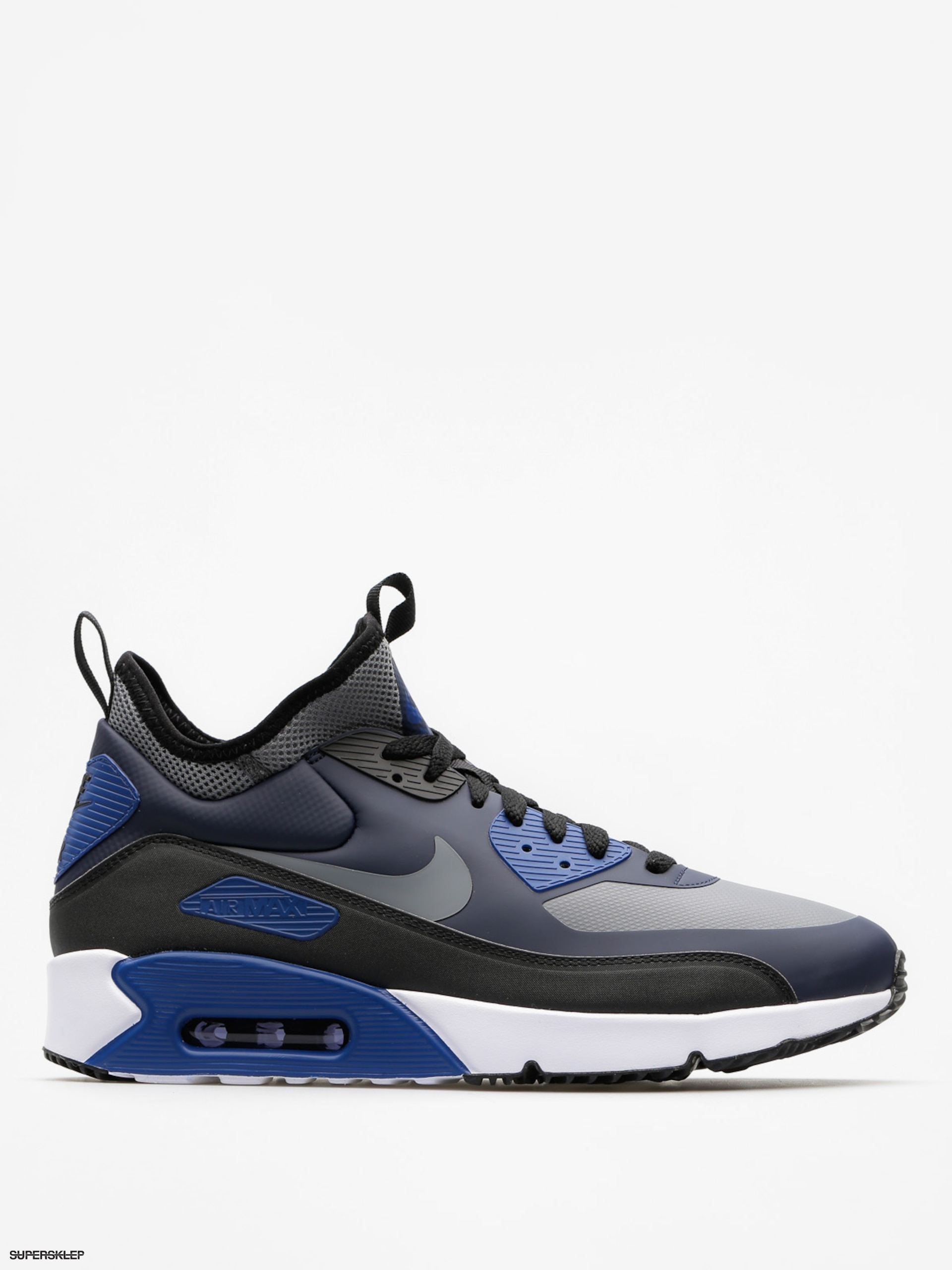 Buty Nike Air Max 90 Ultra Mid Winter (obsidian/cool grey black gym blue)