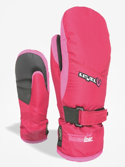 Rękawice Level Junior Mitt (fucsia)