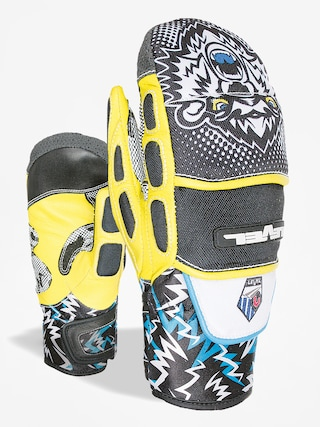Rękawice Level Worldcup Jr Cf Mitt (black yellow)