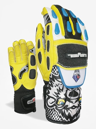 Rękawice Level Worldcup Jr Cf (black yellow)