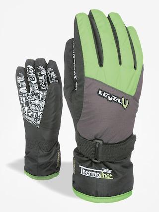 Rękawice Level Junior (green)