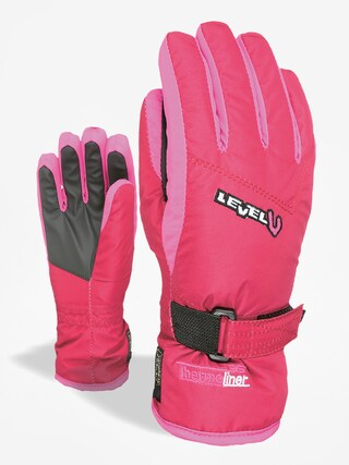 Ru0119kawice Level Junior (fucsia)