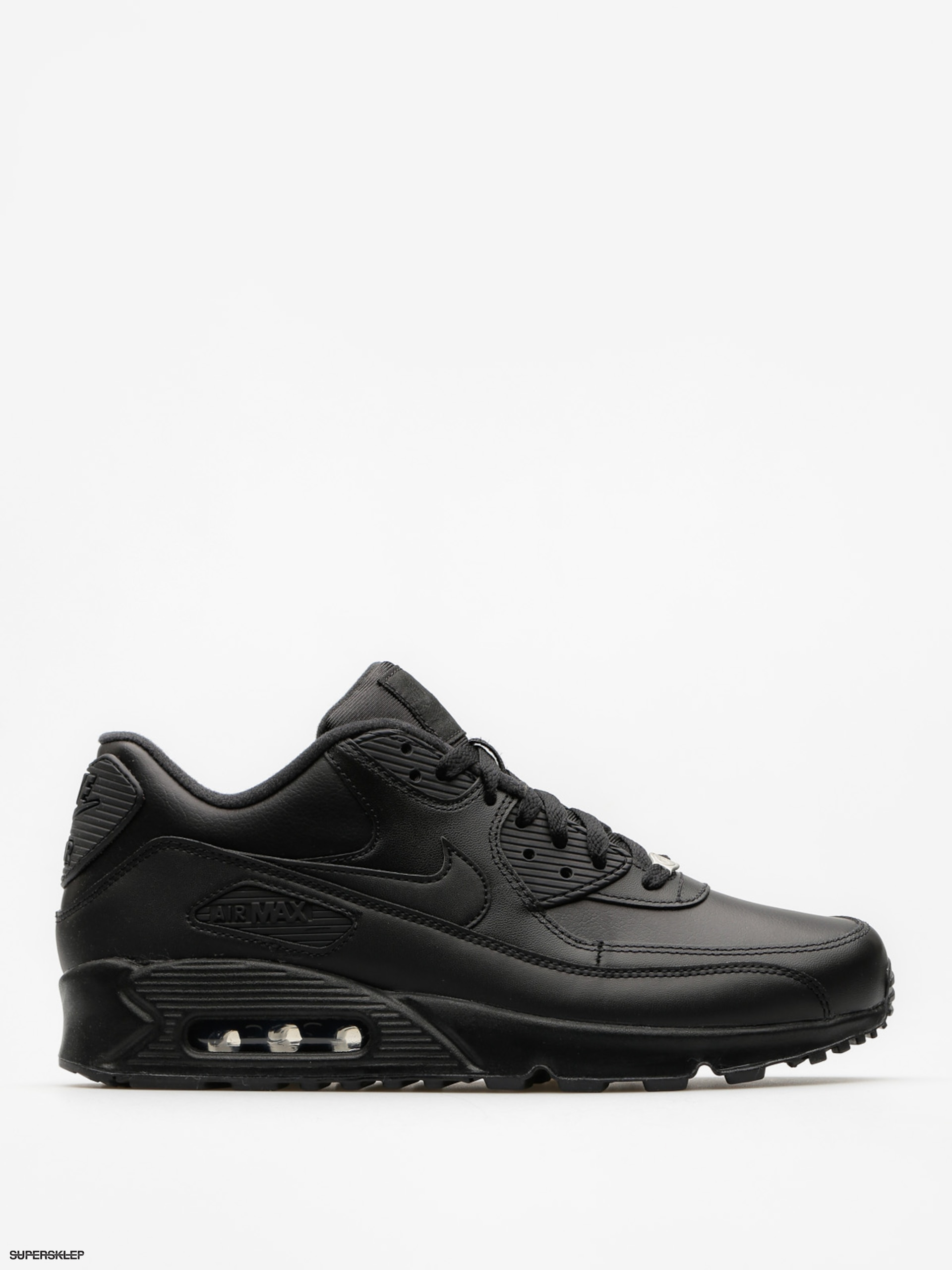 Buty Nike Air Max 90 (Leather blackblack)
