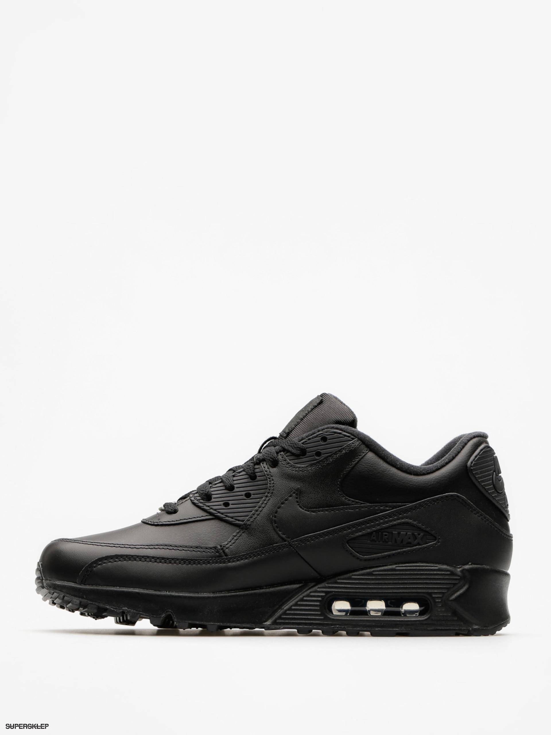 Buty Nike Air Max 90 (Leather black/black)