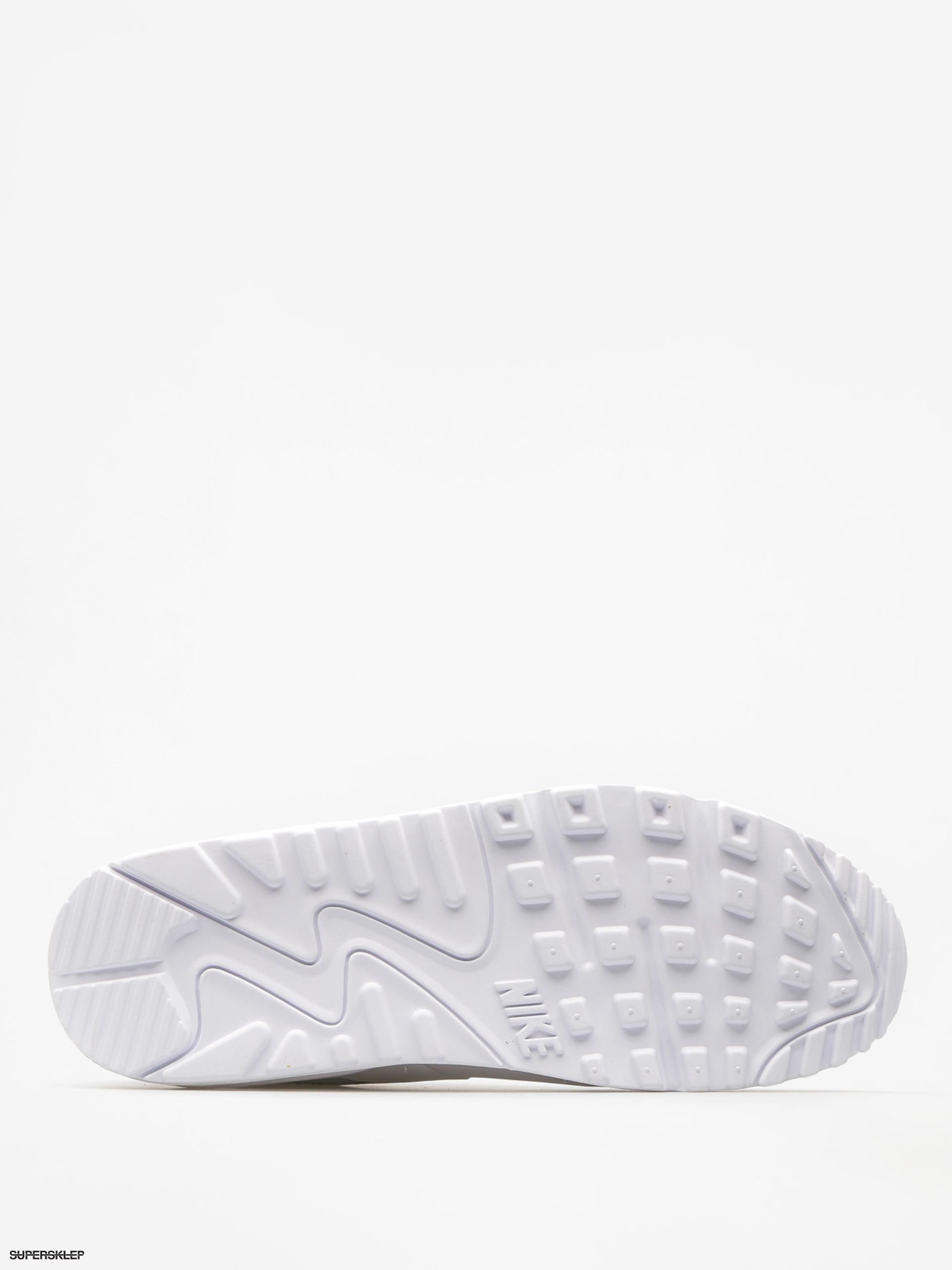Nike Air Max 90 Leather Męskie Białe (302519 113)