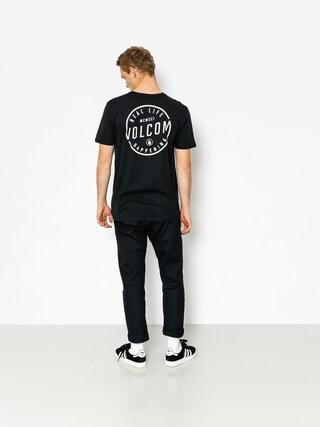 T-shirt Volcom On Lock Bsc (blk)
