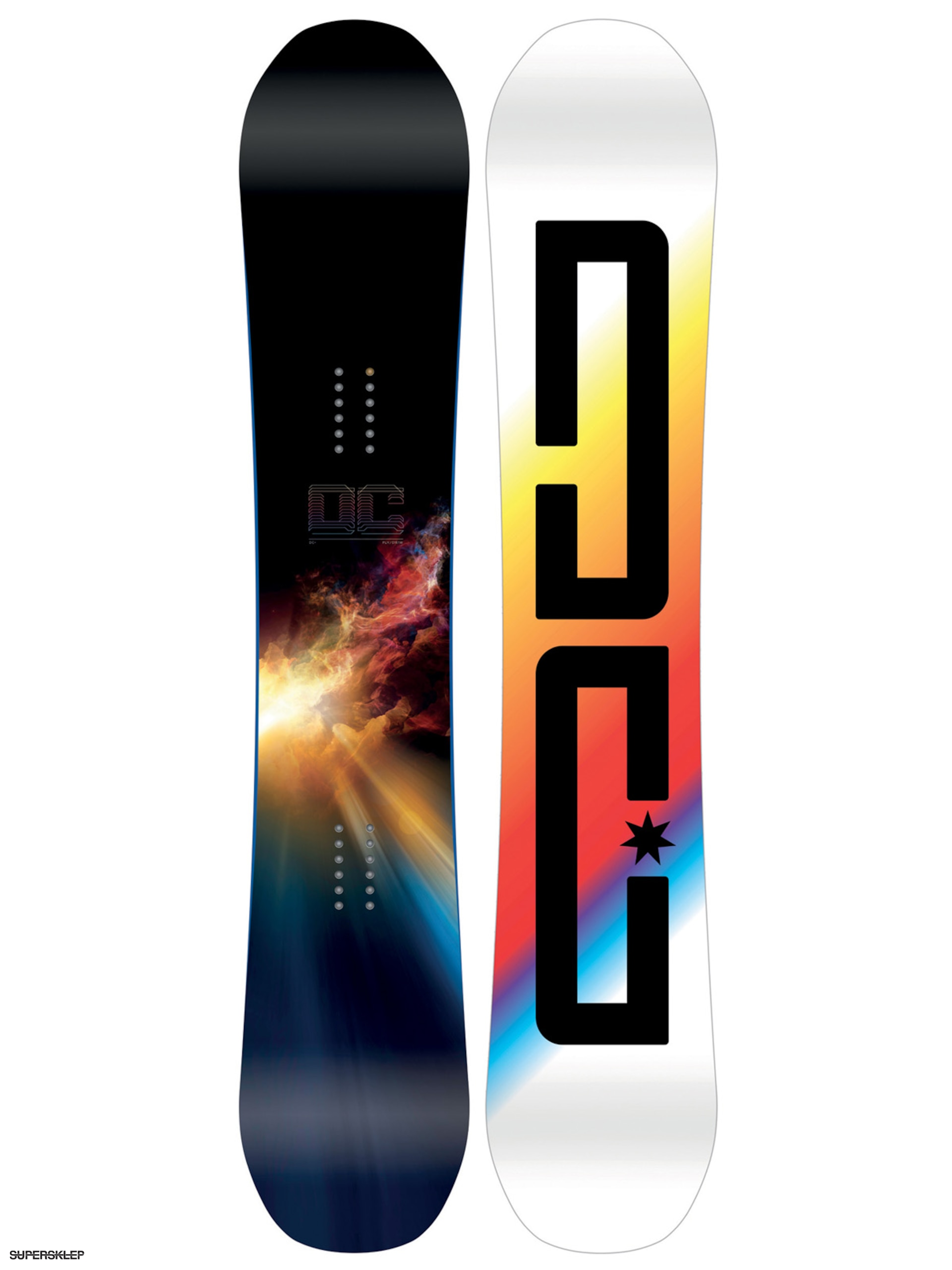 Deska snowboardowa DC Ply (white multi) b20829e644